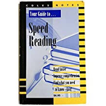 Coles Notes Your Guide to Speed Reading