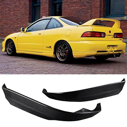 Rear Bumper Lip Fits 1998-2001 ACURA INTEGRA HATCHBACK | Usdm Style PU Black Rear Lip Spoiler Splitter by IKON MOTORSPORTS| 1999 2000