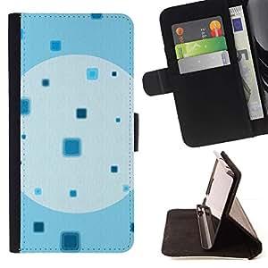 Momo Phone Case / Flip Funda de Cuero Case Cover - Modelo cuadrado Wallpaper minimalista - MOTOROLA MOTO X PLAY XT1562