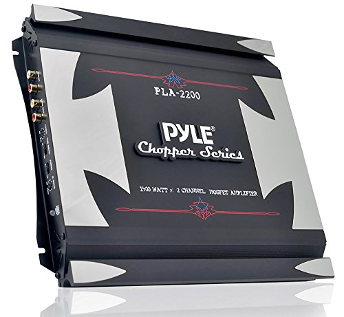 Pyle PLA2200 2-Channel 1,400-Watt Bridgeable Mosfet Amplifie