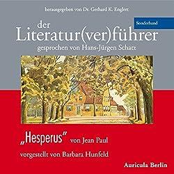 Hesperus von Jean Paul (Der Literaturverführer - Sonderband )