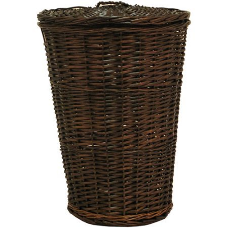 Generic Round Willow Hamper with Matching Lid
