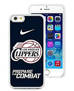 iPhone 6(4.7) Case,Excellent protection Los Angles clippers White For iPhone 6(4.7) TPU Case