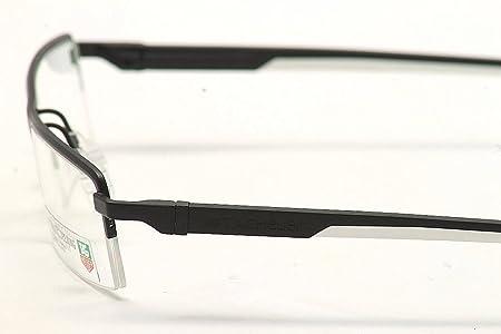 63997f5b30 Amazon.com  Tag Heuer Eyeglasses Men s TH0822 TH 0822 011 Black White  TagHeuer Optical Frame  Health   Personal Care