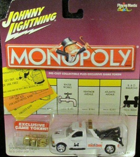 Johnny Lightning Monopoly Pennsylvania Rail Road '00 Ford F-450 Tow Truck