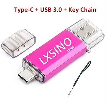 LXSINO 32GB 64GB USB C/Tipo C/USB 3.1 + USB 3.0 OTG Jump-Laufwerk ...