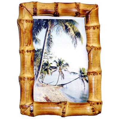 Bamboo Root Frame in Natural (8 in. L x 10 in. - Bamboo Frames