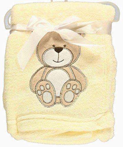 Snugly-Baby-Teddy-Bear-Dream-Plush-Blanket-Cream