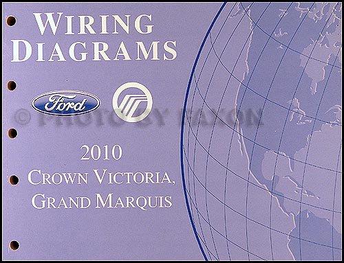 2010 crown victoria & grand marquis wiring diagram manual original ...  amazon.com