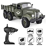 Rainbrace RC Military Truck -Radio Control 1/16 All Terrain Remote Control Military Truck