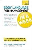 Body Language for Management, Geoff Ribbens and Richard Thompson, 1444159526