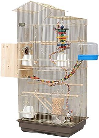 Pet supplies Ampliación de la Jaula de pájaro, Jaula de cría de la Puerta Doble del