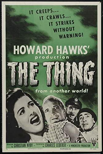Amazon.com: The Thing from Another World POSTER Movie (11 x 17 Inches -  28cm x 44cm) (1951) (Style C): Posters & Prints