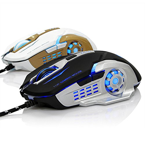 516WxWcEnFL - EIMELI-Gaming-Mouse-with-4-Color-Changeable-LED-Light-3200-DPI-4-Adjustable-DPI-Level-6-Buttons-Ergonomic-Design-Comfortable-Grips