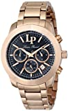Lucien Piccard Women's LP-12937-RG-11 Belle Etoile Analog Display Japanese Quartz Rose Gold Watch