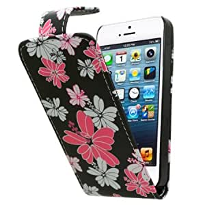Cerhinu SAMRICK - Apple iPhone 5 5G & The New iPhone 5th Generation & Apple iPhone 5S - Floral Flowers Specially Designed...
