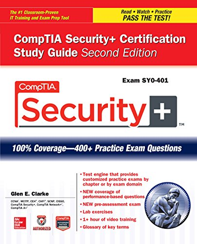 Download CompTIA Security+ Certification Study Guide, Second Edition (Exam SY0-401) (Certification Press) Pdf