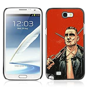 YOYOSHOP [Cool Lock Stock Illustration] Samsung Galaxy Note 2 Case