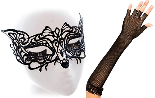 IF FEEL Halloween Masquerade Party Cosplay Costume Accessories Treat or Trick (One size, 4-2) (Halloween Costum Ideas)