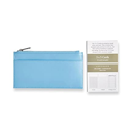 Amazon levenger hydrangea handy leather card courier business levenger hydrangea handy leather card courier business card holder al14930 nm colourmoves