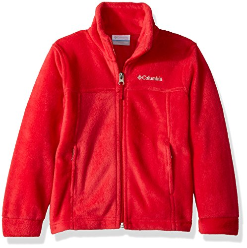 (Columbia Boys' Little Steens Mt II Fleece, Mountain Red, X-Small)