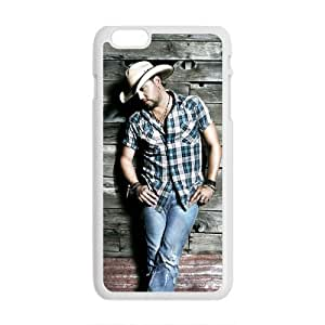 Happy Jason Aldean Cell Phone Case for Iphone 6 Plus
