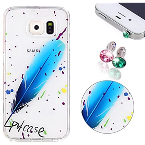 Samsung Galaxy S7 Case, Pershoo Ultra Slim Soft TPU Anti-Scratch Protective Clear Transparent Cover Colorful Printing Sales