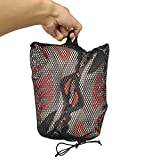 MacRoog Storage Mesh Bag for Underwear Shoes and Socks Hanging Bag 2pcs Outdoor Mountaineering Hiking