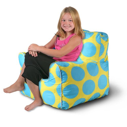 Sol Kids Indoor/Outdoor Anywhere Chair - Yellow/Blue by Modernhome