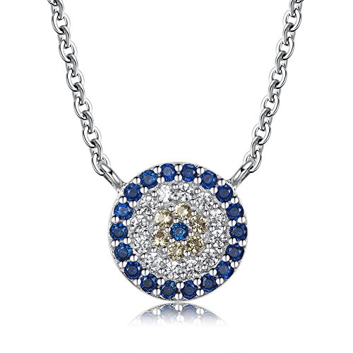 nt Necklace Sterling Silver 925 Cubic Zirconia Cable Chain 16
