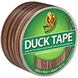 Duck Brand 283051 Printed Duct Tape, Woodgrain, 1.88 Inches x 10 Yards, Single Roll