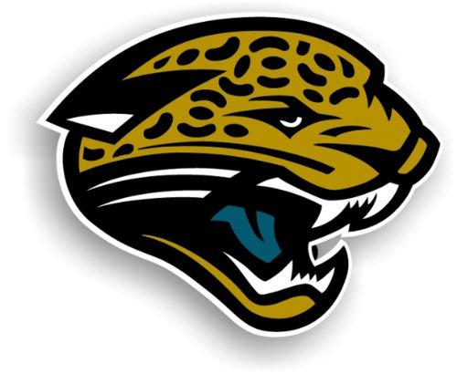 NFL Jacksonville Jaguars 12-Inch Vinyl Logo Magnet