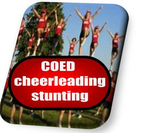 COED cheerleading stunting instruction booklet (CheerWiz Cheerleading instruction booklets Book 3) por Christopher Owens