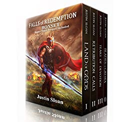 Falls of Redemption - Boxset: A Military Fantasy Epic by [Sloan, Justin]