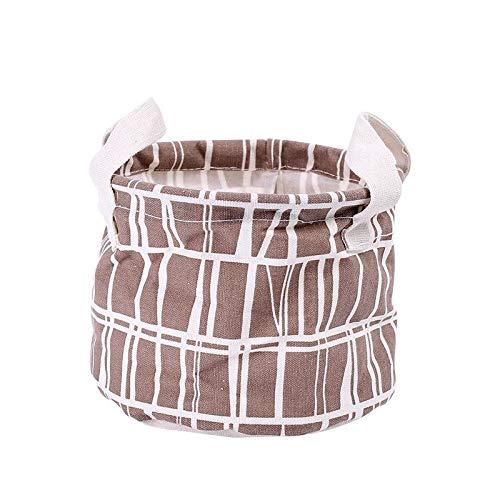 - Storage Baskets - Flamingo Bird Folding Storage Desktop Basket Box Clothes Sundries Toy Portable Hanging Linen Bucket - Makeup Valentines Cotton Iron Handle Medium Modern Turtle Dresser E