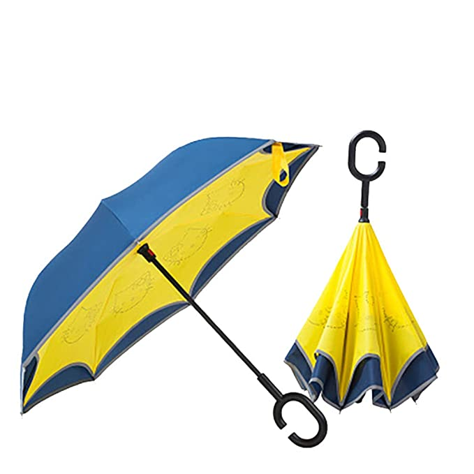 Amazon.com: J&D UMBRKIDS Baby Children Umbrella Boys Kids Umbrella Girl Umbrellas Blue: Sports & Outdoors