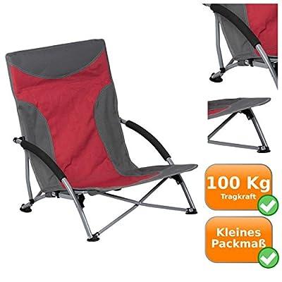 Chaise De Plage Confortable Pliante Ultra Stable Jusqu 100 Kg 600D Rip Stop Tissu Solide Pieds Extra Large Pour Sol Doux Repli Seulement 15 X