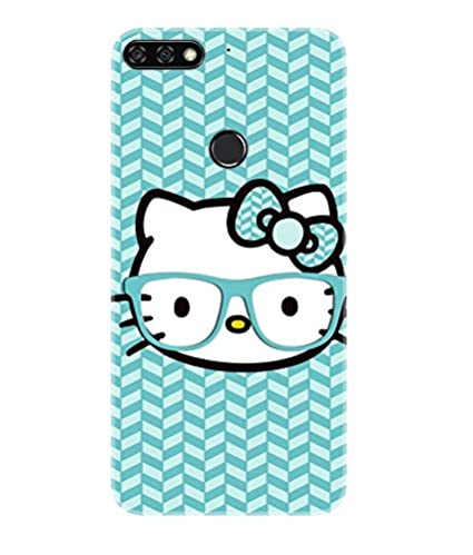 new product 05628 c5f7f Gismo Honor 7C Back Cover/Huawei Honor 7C Cover/Honor 7C Designer Printed  Soft TPU (Rubber) Back Case/Honor 7C Mobile Cover-Hello Kitty Cute Girl ...