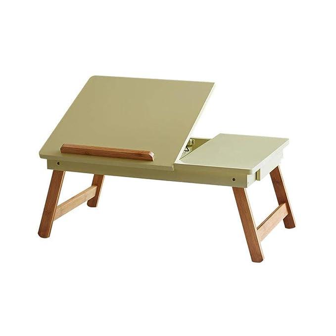 Laptop Cama Mesa Escritorio Ángulo Plegable Ajustable Bambú ...