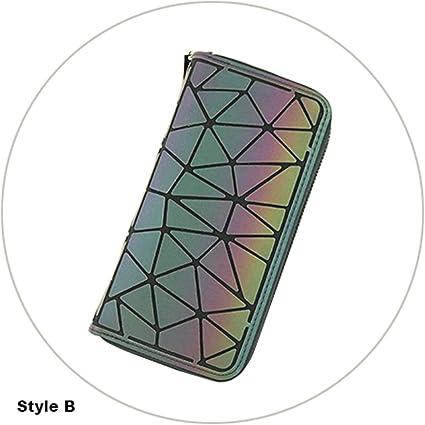 Amazon.com: Leather Wallet Purse Women Big Slim Long Luxury Magic Wallet Women Wallet Female Purse Monedero Carteras Colorful B
