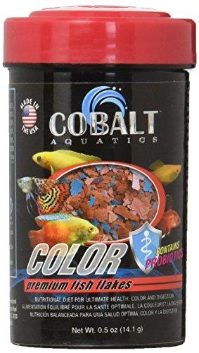 Cobalt Aquatics International Fish Color Flakes 0.5 Oz, Large