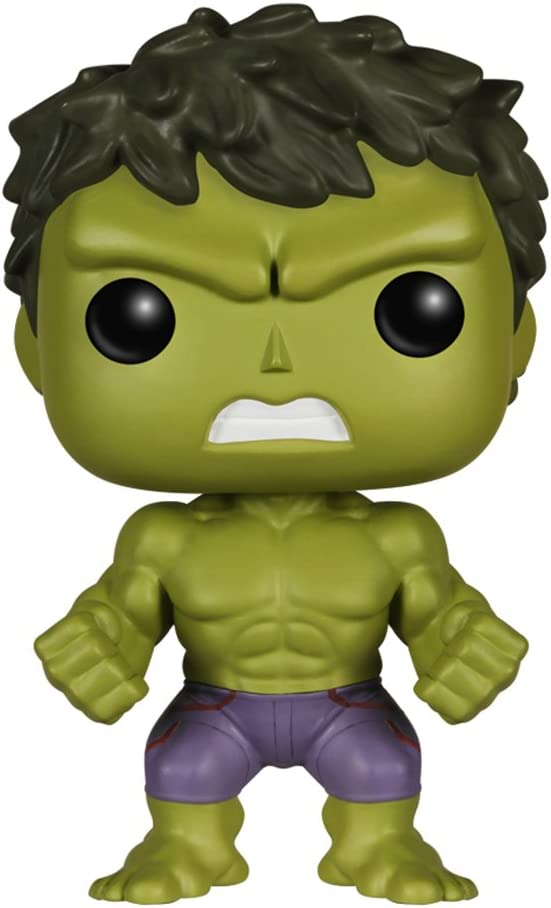 Funko POP Movie: Marvel Avengers 2 Hulk Bobble Head Vinyl Figure