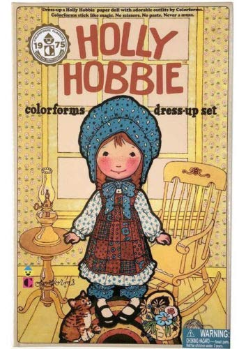 Big Game Toys~Holly Hobbie Colorforms Dress-Up Set 2017 Official Reproduction of VTG 1975 Nib from Big Game Toys