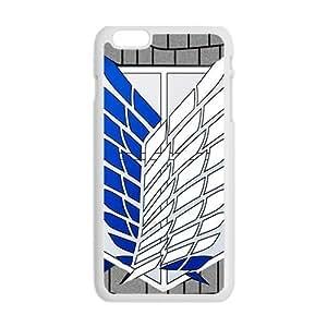 Attack On Titan Fashion Comstom Plastic case cover For Iphone 6 Plus