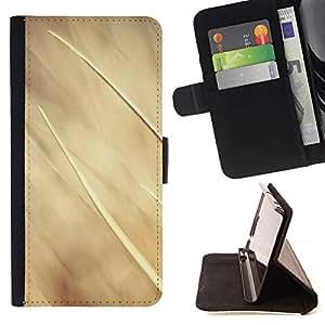 For Samsung Galaxy E5 E500 Case , Beige Summer Sun Granja Naturaleza- la tarjeta de Crédito Slots PU Funda de cuero Monedero caso cubierta de piel