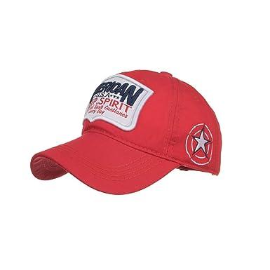 Gorras De Béisbol Hombre Y Mujer Bordadas De Estrella De Algodón ...