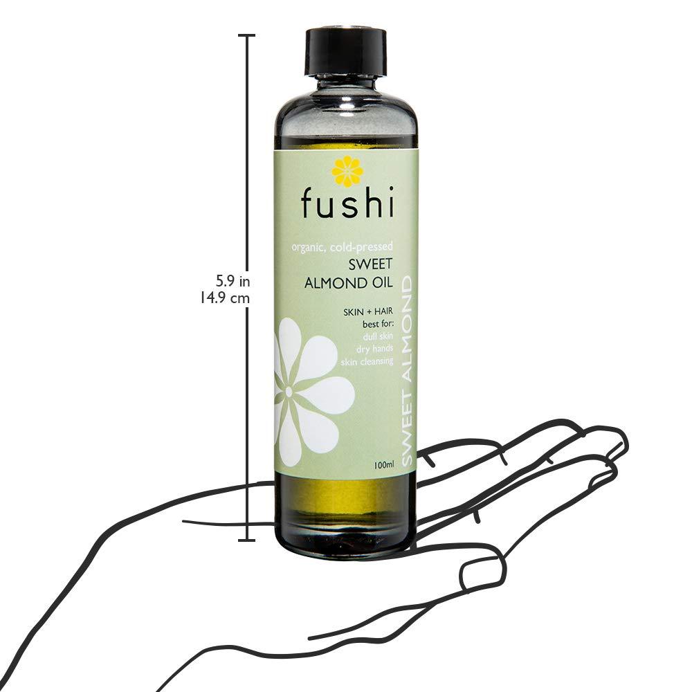 Amazon com: Fushi Sweet Golden Almond Organic Oil 100ml