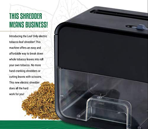 Leaf Only Electric Whole Tobacco Shredder and Grinder, One Size by Leaf Only (Image #3)