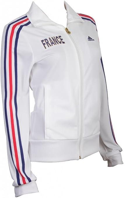 Adidas Veste de sur vêtement de l'équipe de France de