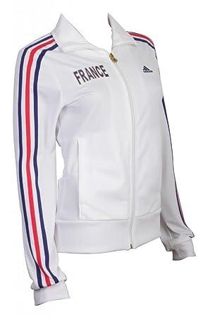 L'équipe Adidas Vêtement Football France De Sur Pour Veste 6rq1xrIwa